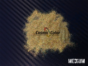 Metal Flakes Holographic Gold (80g)